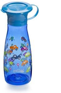 Wow Cup Mini - Blue Cars Wow Cup Mini - Lekkasjefri drikkekop i Tritan med 360° drikkekant