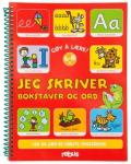 bok jeg skriver bokstaver ord
