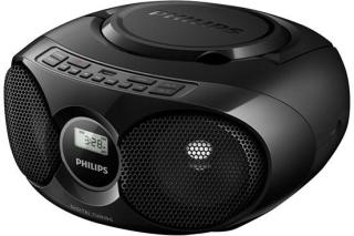 Philips Bærbar radio CD Soundmachine - AZ318B/12 - FM - Stereo - Svart AZ318B/12