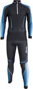 Swix Triac 2-pcs skisuit, langrennsdress herre Black 32541-10000 S 2018