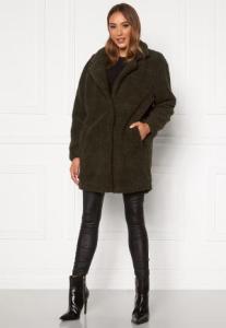 ONLY Laurelia Sherpa Coat Rosin XS