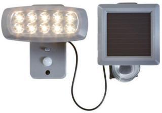 Solcelledrevet LED-lyskaster 50 lm