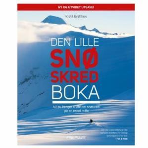 Den lille snøskredboka: alt du trenger å vite om snøskred på en Kjetil Brattlien
