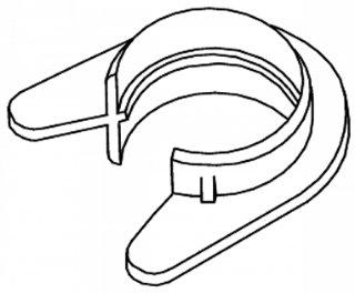 K-Rørfeste 16-20mm TED-KR 100STK Schneider Electric