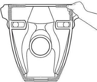 Dempningslist for vegghengte toaletter