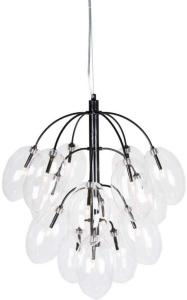 Globen Lighting Pendel Drops Svart