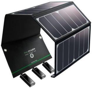 RAVPower Solcellsladdare 24W G233-9