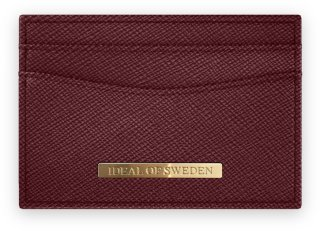 IDEAL OF SWEDEN Card Holder Burgundy Card Holder