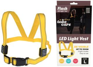 Flash LED Light Vest Small - 1 Stk.