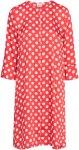 Saint Tropez Kjole Mega Dot Dress Women Tomato