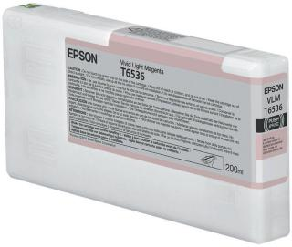 Epson livlig lys magenta - original - blekkpatron (C13T653600)