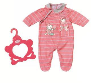 Baby Annabell Romper 43 cm - rosa sparkedress til dukke
