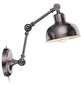 Markslöjd Gramstad Vegglampe Antikk/Sølv
