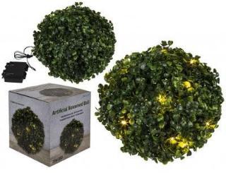 Blomsterball med ledlys