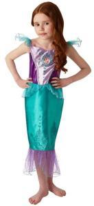 Disney Princess Ariel Klänning Maskeraddräkt Barn Inget (Storm)