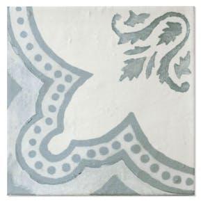Flis Hill Ceramic Antique Grønn-Beige Blank 20x20 cm