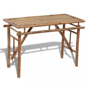 Bambus Sammenleggbart Bord - 120 cm