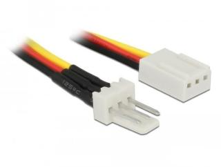 DELOCK Fan Power Cable 3 pin male to 3 pin female 30 cm (85753)