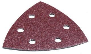 Sandpapir til deltaslipere 93x93 mm P120 10 stk