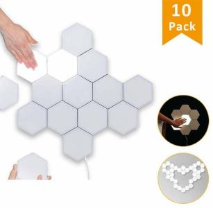 Not specified LED veggbelysning Hexagon med berøring - 10 stk