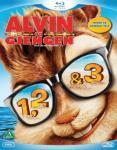 Alvin og gjengen 1-3 (Blu-ray) (3 disc)