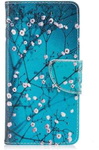 Deksel for Huawei Y6 (2017) - Rosa blomster