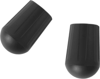 Helinox Chair Rubber Tips 18.5 2-pack, Black, OneSize
