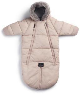 Elodie Details - Baby Overall Footmuff - Powder Pink 6-12m Powder Pink 6-12m  AF2PD8