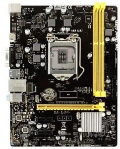 BIOSTAR H310MHD3 - 7.X - motherboard - micro ATX - LGA1151 Socket - H310 Hovedkort - Intel H310 - Intel LGA1151 socket - DDR3L (Low Voltage) RAM - Micro-ATX H310MHD3