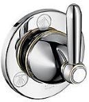 Axor Carlton 4-veis ventil Krom til Quattro 4-veisventil