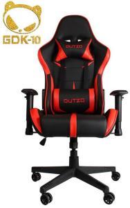 DUTZO E-Sport V2 - Black/Red Gamingstol - Svart/Rød - PU-lær - Opptil 120 kg ESPORTV2-BR