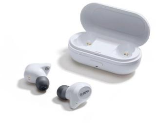 Boya - Earbuds True Wireless In-Ear Headphones - White  2354DB