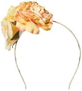 Creamie Hairband Flower Popcorn