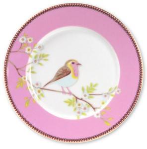 Asjett  Early bird Pip Frokost  Rosa 21cm. porselen