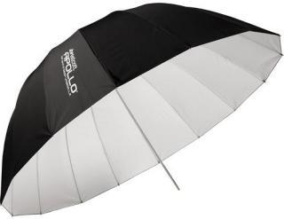 Westcott Deep Umbrella White 135 cm Dyp Hvit Paraply 135cm (53