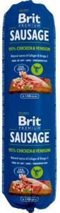 Brit pølse med kylling og vilt 800g