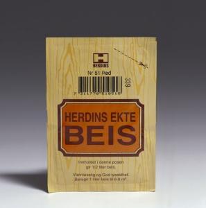 HERDINS BEISPULVER VANNBASERT 15G IBENHOLTSORT HERDINS EKTE BEIS