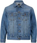 Lee Jeansjakke Rider, regular fit Men Blue damage