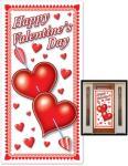 Beistle Valentinesdag, dørdekorasjon - Jul