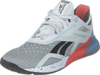 Reebok Nano X White/fluid Blue/vivid Orange, Sko, Sneakers og Treningssko, Sneakers, Blå, Hvit, Dame, 41