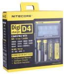 Nitecore D4 Multi LCD Batterilader 18650 14500 mm
