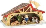 Christmas Toys Memory julekrybbe med to lys 27x16 cm Villeroy&Boch