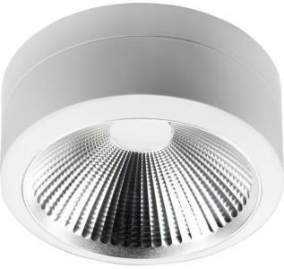 SG Armaturen Ceres Hvit 2000 LED KL I Utenpåliggende Downlight 3000K 3255000 Taklampe / Vegglampe