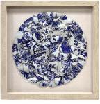 HKliving Porselensbilde + Ramme