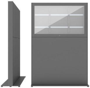 SMS 55L Casing Freestand Storage G2 DGDark Grey RAL7016 Beställningsvara (702-012-22)