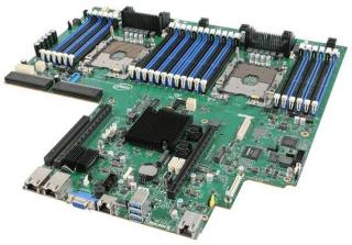 Intel Server Board Hovedkort - Intel C624 - Intel Socket P socket - DDR4 RAM - S2600WF0R