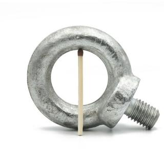 Vingskrue M12 | Varmforsinket ringskrue - se flere øyebolter på SuperMagneter.no