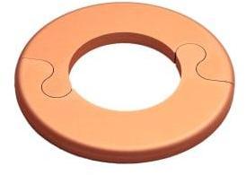 Metalwo Rosett i kobber, Ø28 mm