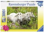 Ravensburger Puslespill Horses in a field of flowers 300 brikker