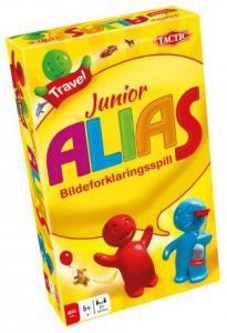 Junior Alias Travel Brettspill Reiseutgave